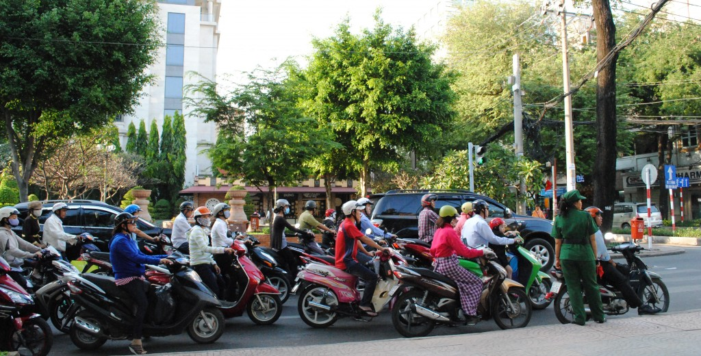 Motorcycle Commuting in Asia