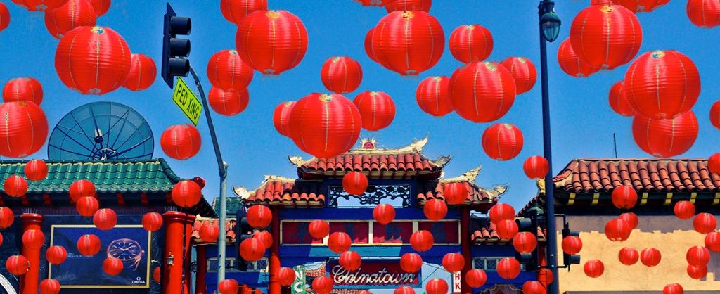 Los Angeles CA Chinatown