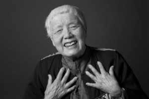 Photo of Grace Lee Boggs by Grace Holland