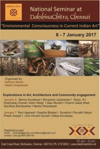 Environmental Consciousness in Current Indian Art Conference January 2017