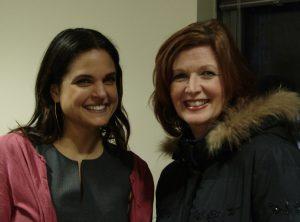 Asha Nadkarni and Sherry Zane of WGSS